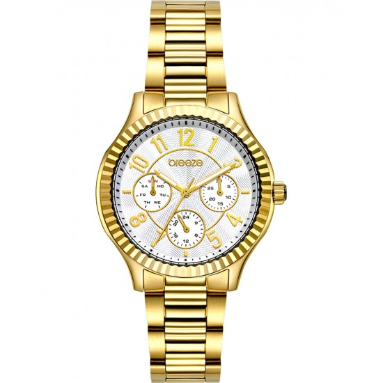 BREEZE Suprecious Gold Stainless Steel Bracelet 212171.2