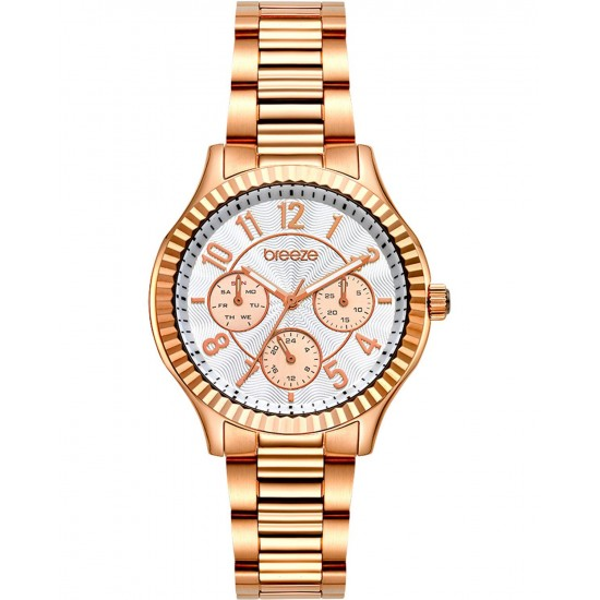 BREEZE Suprecious Rose Gold Stainless Steel Bracelet 212171.4