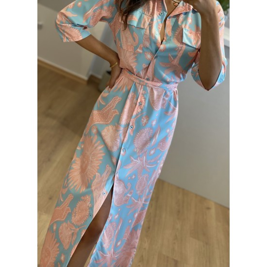 Midi Egyptian Dress