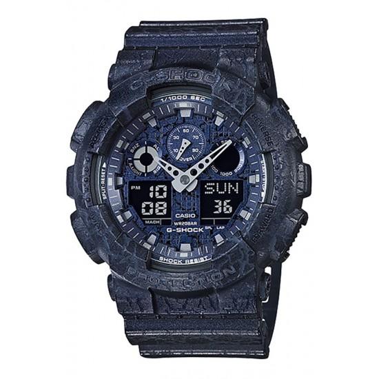 Casio G-Shock Analog-Digital Blue case GA-100CG-2AER