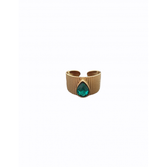 Δαχτυλίδι Ora Ora από ανοξείδωτο ατσάλι LW-0216