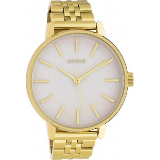 OOZOO Timepieces Gold Metallic Bracelet C10622