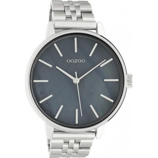 OOZOO Timepieces Silver Stainless Steel Bracelet C10623