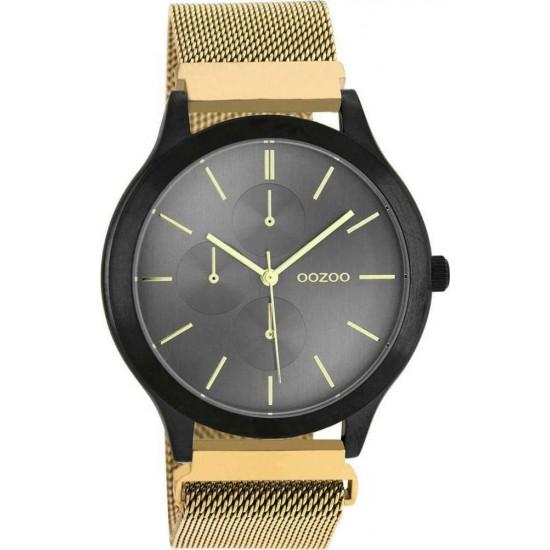 OOZOO Timepieces Gold Metallic Bracelet C10689