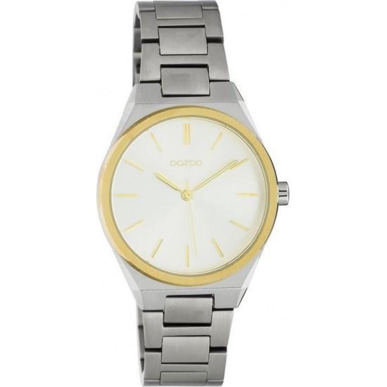 OOZOO Timepieces Silver Metallic Bracelet  C10526