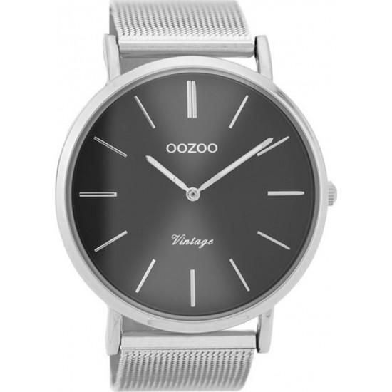 OOZOO Vintage Silver Metallic Bracelet C9937
