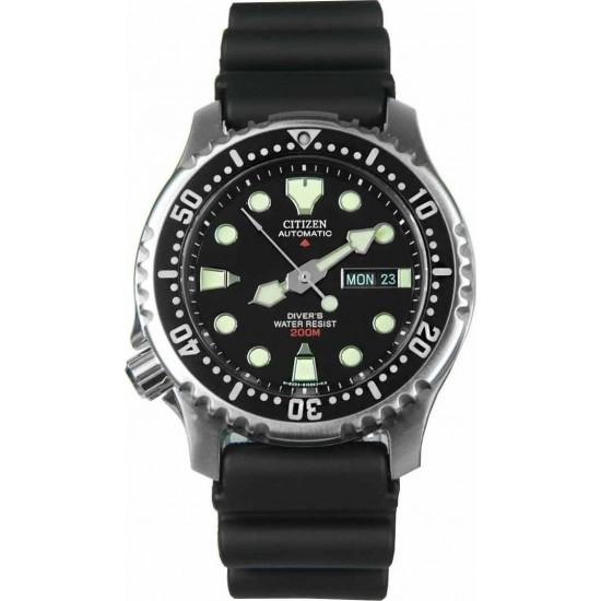 CITIZEN Promaster Automatic Sea Black Rubber Strap NY0040-09E