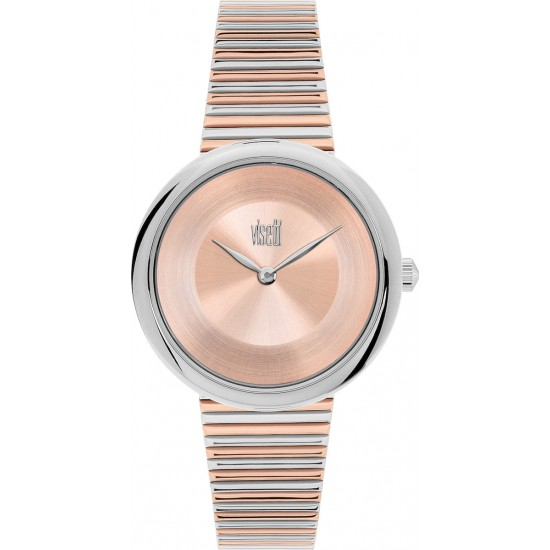 VISETTI Pure Chic Two Tone Stainless Steel Bracelet ZE-358SRR
