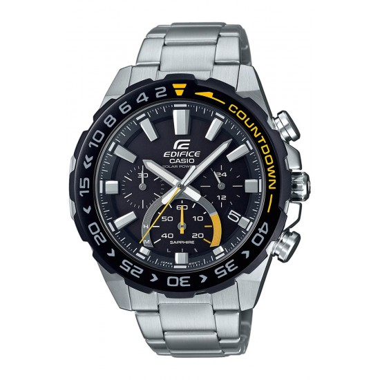 CASIO Edifice Solar Stainless Steel Chronograph EFS-S550DB-1AVUEF
