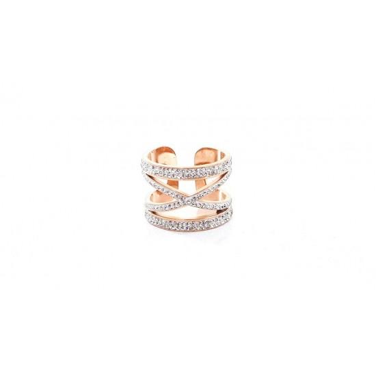 Δαχτυλίδι Ora Ora από ανοξείδωτο ατσάλι LA-3224