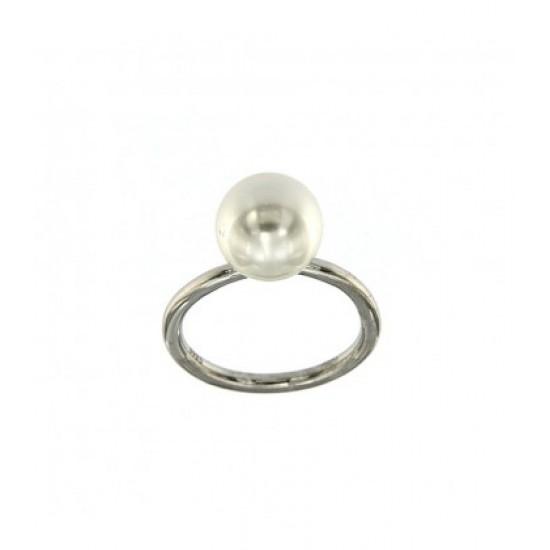 Δαχτυλίδι Jools ασημί με μαργαριτάρι SAR7282.1