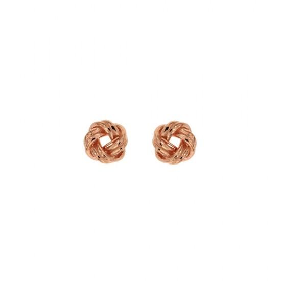 Σκουλαρίκια Jools από ασήμι 925 ροζ χρυσό SE2627.3
