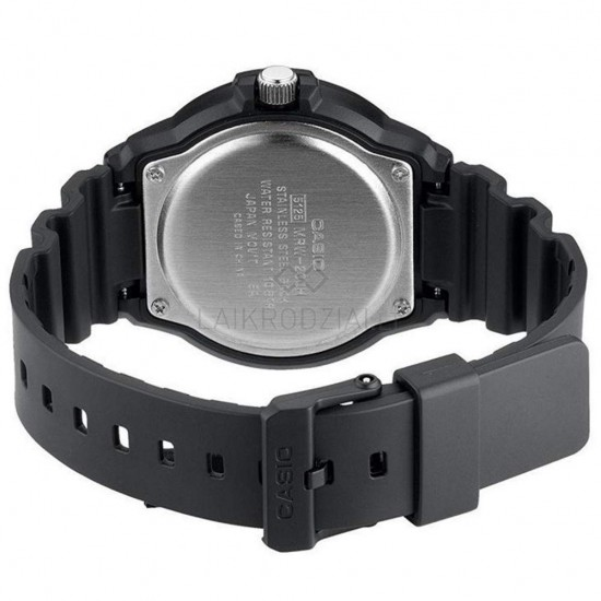CASIO Collection Black Rubber Strap MRW-200H-5BVEF